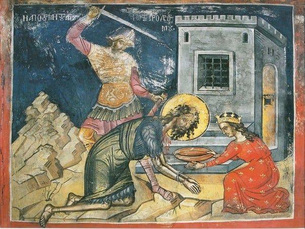 29 August in Calendarul Ortodox. Taierea capului Sfantului Ioan Botezatorul / TRADITII si OBICEIURI