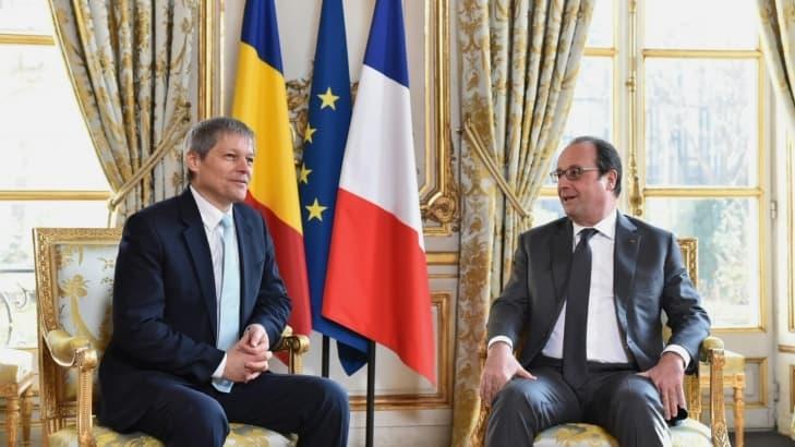 Presedintele francez FRANCOIS HOLLANDE va efectua o VIZITA de STAT in ROMANIA