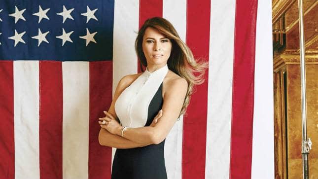 """Melania Trump, cea mai """"hărţuită"""" persoană din lume pe internet"""