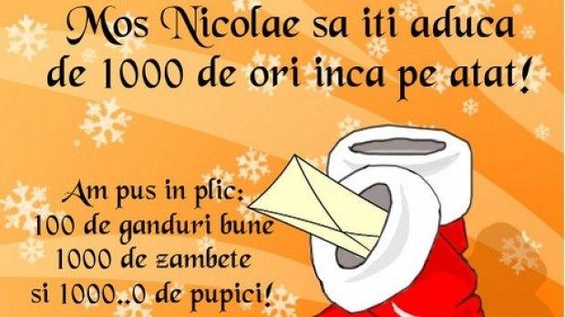 Mesaje Moș Nicolae. Urări și felicitări pe care le puteti trimite de Moș Nicolae