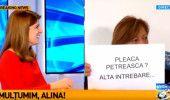 ALINA PETRESCU de la ANTENA 3 direct la GUVERN