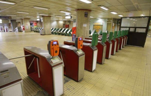 București. Bărbat lovit de metrou la staţia Ştefan cel Mare