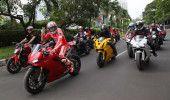 CLUJ: Sute de MOTOCICLISTI au MARSALUIT pe strazilei ORASULUI
