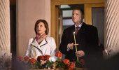 IOHANNIS si sotia sa participa la slujba de Inviere de la Biserica Romano-Catoli…
