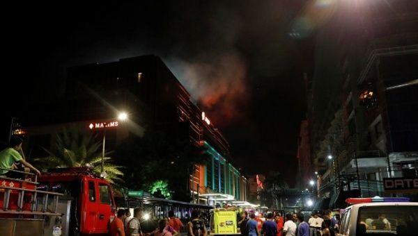 ATAC ARMAT intr-un HOTEL de LUX din MANILA! STATUL ISLAMIC a revendicat ATENTATUL