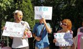 Protest la PRIMARIA CAPITALEI: PETRECERI si VORBE, in BEZNA la Primaria Generala