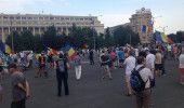 Un nou PROTEST in PIATA VICTORIEI din CAPITALA: COD ROSU la DNA! JUSTITIE nu COR…