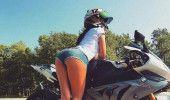 Cea mai SEXY MOTOCICLISTA din lume a MURIT! GALERIE FOTO SOCANTA