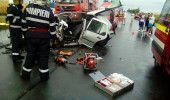 IALOMITA: ACCIDENT GRAV la SINESTI soldat cu TREI MORTI si DOI RANITI