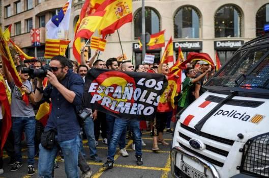barcelona, octombrie, manifestatie, protest, referendum, autonomie