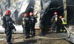 București: Incendiu puternic în centrul Capitalei