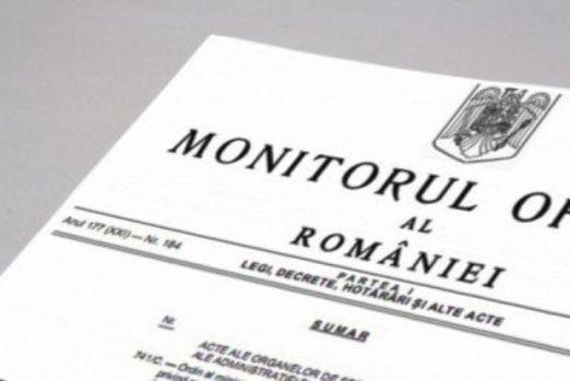 Ordonanța de urgență de modificare a Codului Fiscal, publicată în Monitorul Oficial