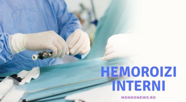 Hemoroizii interni. Cauze, simptome, tratament și prevenție