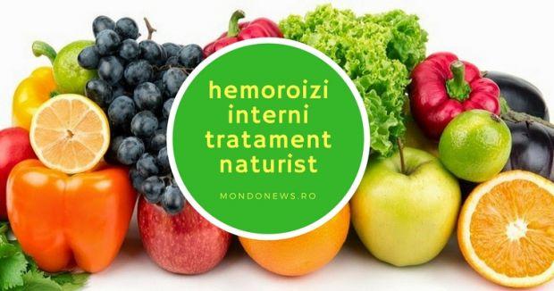 hemoroizi interni, tratament naturist