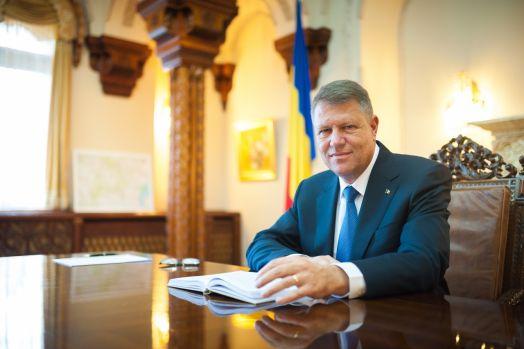 Klaus Iohannis, mesaj de Anul Nou: Să dovedim că România este implicată în proiectul european