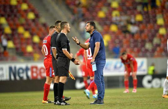 Amical: FCSB a picat primul test al iernii după un meci cu o bătaie și lacrimi de durere