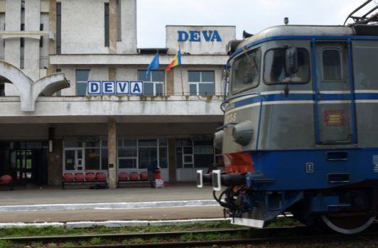 Deva: Împușcături în gara orașului soldate cu rănirea unui bărbat
