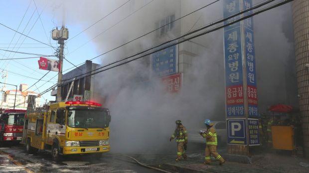 Coreea de Sud: 41 de morți și zeci de răniți după ce un spital a luat foc