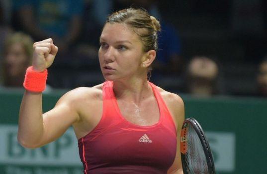 Turneu Shenzen: Simona Halep a câștigat semifinala românească și s-a calificat în finală