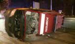 Râșnov: Ambulanță SMURD implicată într-un accident! Trei paramedici au fos…