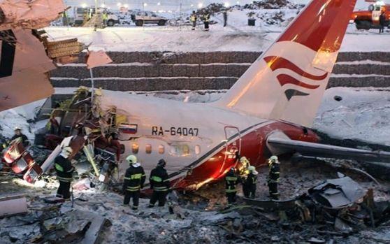 Tragedie aeriană în Rusia: Un avion cu 71 de persoane s-a prăbușit lângă Moscova