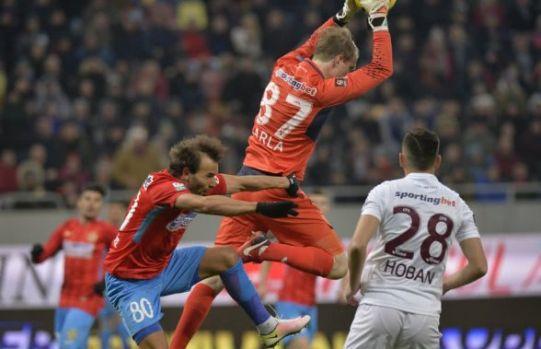 FCSB – CFR Cluj 1-1 (0-1) / Remiză pentru liderul din Gruia în derby-ul de pe Național Arena
