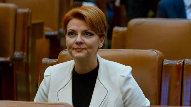 Lia Olguţa Vasilescu a vorbit despre dosare și mărirea pensiilor