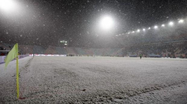 Liga I paralizată de ger și ninsori! Meciurile amânate de LPF! FRF amînă un meci din sferturile Cupei