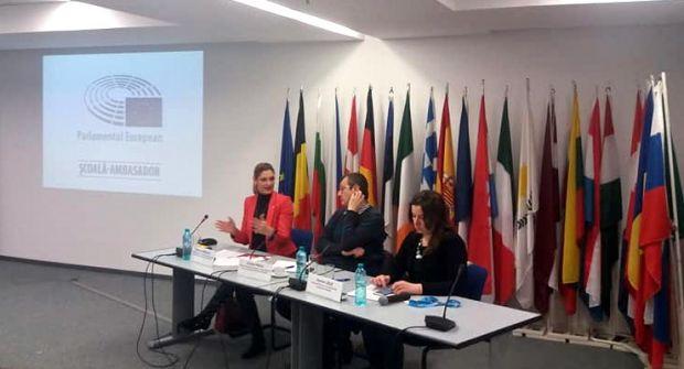 Ramona Mănescu despre programul Școli Ambasador ale Parlamentului European