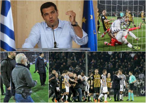 Grecia: Campionatul de fotbal a fost suspendat pe termen nelimitat