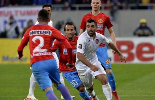 CFR Cluj – FCSB 1-0 (1-1) / Remiză încinsă în Gruia și roș-albaștrii mai speră la titlu. Video rezumat