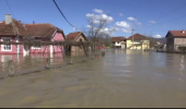 Fenomene extreme în România! Cod portocaliu de inundații