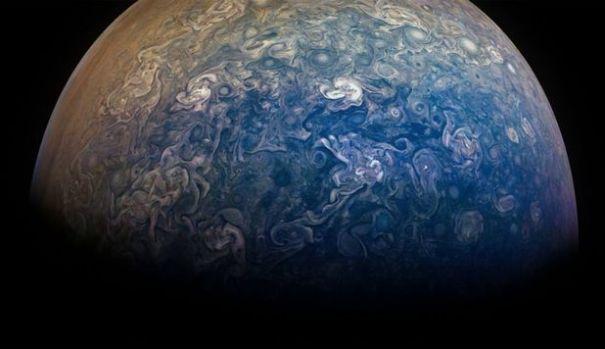 Imagine fără precedent surprinsă în interiorul planetei Jupiter! Foto în articol