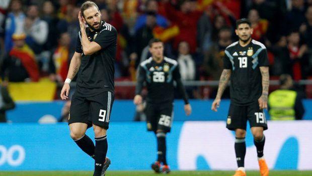 Spania a distrus Argentina! Scor incredibil în amicalul de pe stadionul lui Atletico Madrid