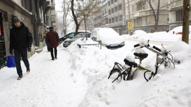 Zăpada acoperă Capitala! Prognoză specială pentru București