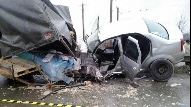 Iași: Accident grav soldat cu rănirea a doi polițiști și a unui civil