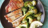 Cum se prepară cotletul de porc cu usturoi și broccoli! O rețetă rapidă ce nu trebuie ratată