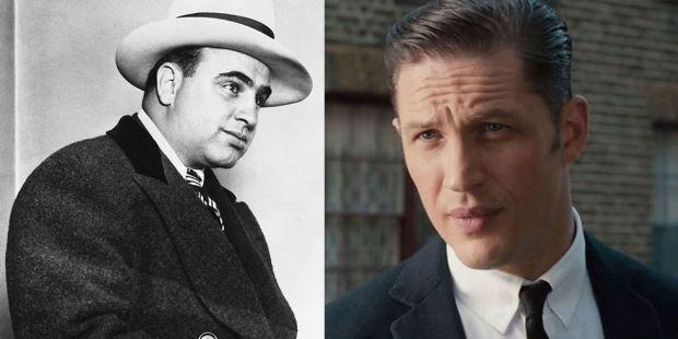 Tom Hardy este de nerecunoscut! Machiajul a făcut minuni la filmările pentru noul film despre Al Capone