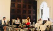 Deputy Prime Minister and Minister of Foreign Affairs Meets Qatari-European Frie…
