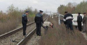 prahova, accident feroviar, barbat decapitat, tren privat, ruta maneciu-ploiesti