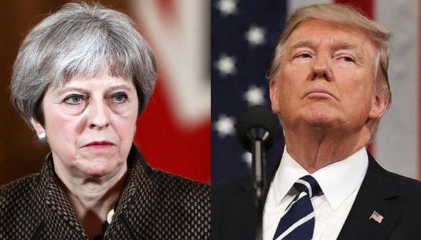 Donald Trump o face praf pe Theresa May și planul pentru Brexit