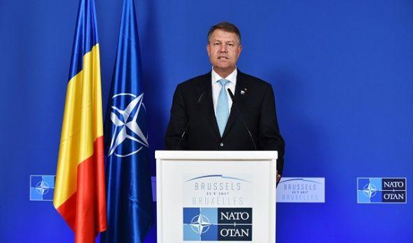 Klaus Iohannis participă, la Bruxelles, la Summitul Alianţei Nord-Atlantice