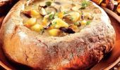 Cum se prepară supa de ciuperci în pâine. O rețetă delicioasă și sănătoasă