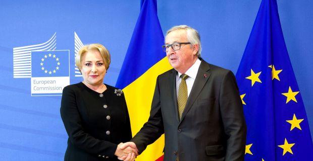 Premierul Dăncilă se întâlnește la Bruxelles cu președintele Comisiei Europene! Agenda întrevederii
