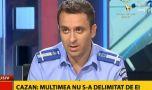 Laurențiu Cazan, comandantul acțiunii jandarmilor în Piața Victoriei: Îmi a…