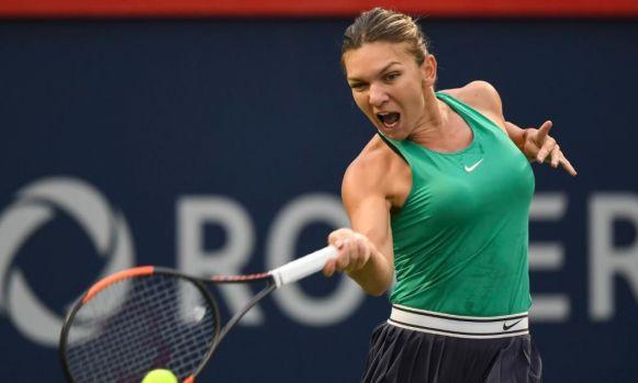 Simona Halep s-a calificat în semifinalele Rogers Cup de la Montreal