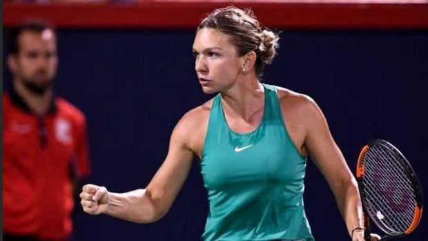 Simona Halep s-a calificat în sferturile de finală de la Rogers Cup