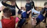 Elev terorizat și umilit de colegi într-un liceu din România! Video șocant