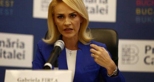 Gabriela Firea anunță: Anul viitor aş putea candida independent la Primăria Capitalei!