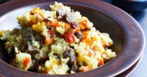 pilaf vita, fructe uscate, reteta culinara, mod preparare, ingrediente
